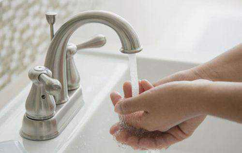 洗手的正确方法