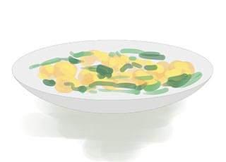 菠菜炒蛋有没有危害以及做法