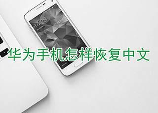 华为手机怎样恢复中文