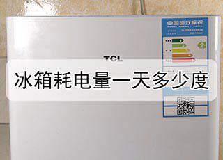 冰箱耗电量一天多少度