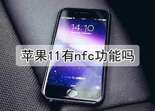 苹果11有nfc功能吗