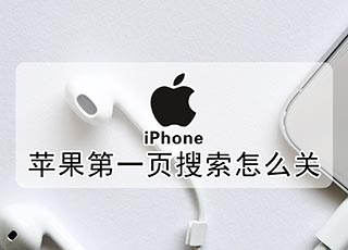 苹果第一页搜索怎么关